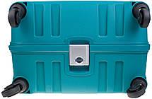 Чемодан CARLTON Safeguard 242J455;93 бирюзовый, фото 2