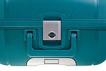 Чемодан CARLTON Safeguard 242J455;93 бирюзовый, фото 3