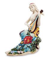 "Фарфоровая cтатуэтка девушка ""Волшебная домра"" Pavone JP-37/ 5"
