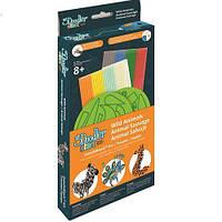 Набор аксессуаров для 3D-ручки 3Doodler Start - ДИКИЕ ЖИВОТНЫЕ (48 стержней, 2 шаблона) ТМ 3Doodler Start 3DS-DBK-WA-COM