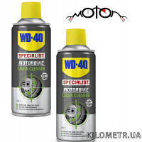 Спрей-чистка мото-вело цепей WD-40 400МЛ