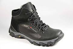 Мужские зимние кожаные ботинки больших размеров 46,47,48,49,50 Columbia 46