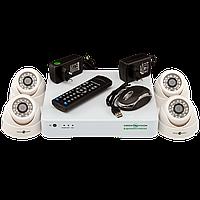 Комплект видеонаблюдения на 4 камеры Green Vision GV-K-S12/04 1080P