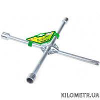 Alloid. Ключ балонний хрест  17х19х21х 1/2, головки для гайкових ключів