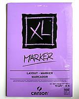 Альбом-Склейка для маркеров Canson MARKER XL Layout  А4, 100л, 70г