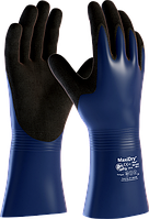 Удлиненные защитные перчатки от масел и жидкостей MaxiDry® Plus™ 56-530