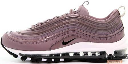 Женские кроссовки Nike Air Max 97 Taupe Grey Purple, Найк Аир Макс 97, фото 2