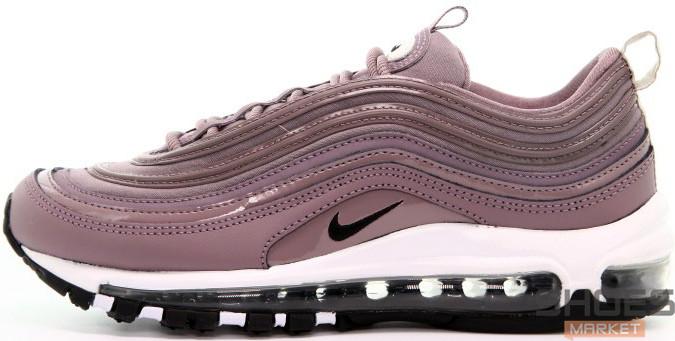 Женские кроссовки Nike Air Max 97 Taupe Grey Purple, Найк Аир Макс 97