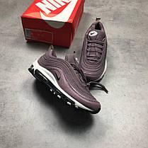 Женские кроссовки Nike Air Max 97 Taupe Grey Purple, Найк Аир Макс 97, фото 3