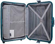 Чемодан CARLTON Safeguard 242J467;93 бирюзовый , фото 2