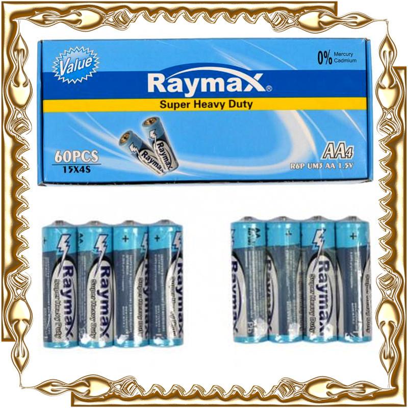 Батарейка Raymax R06 UM4 1.5 V AA (60 шт/уп.)