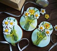 Имбирно-медовый пряник к 8 марта (подарок на 8 марта)