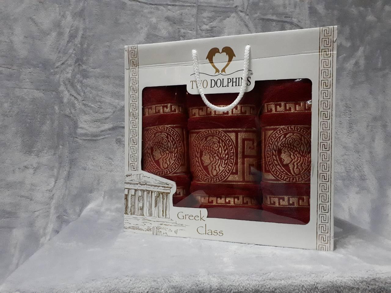 Набір махрових рушників 3 шт Versace