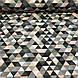 Хлопковая детская бязь польская треугольники мелкие пудровые, серые, графитовые №97, фото 2