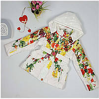 Куртка для девочки 66-212 весна-осень, размеры на рост от 116 до 140, возраст от 5 до 10 лет, фото 1