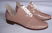 Лаковые туфли 39 размера- Распродажа фабричной обуви / лакові туфлі