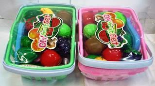 Продукты на липучке DIY Fruit Set