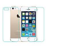 Защитное стекло для iPhone 5/5s/SE на обе стороны, фото 1