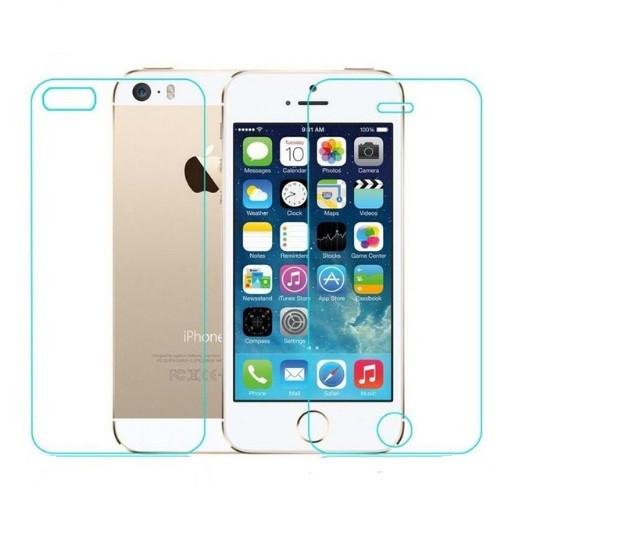 Защитное стекло для iPhone 5/5s/SE на обе стороны
