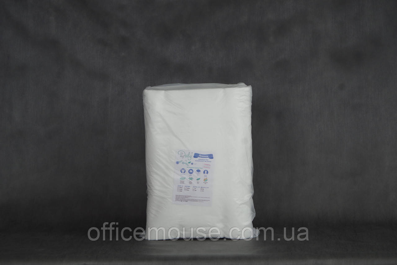 Полотенце спанлейс, в пачке,40х70см,100шт, 40г, Doily