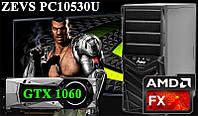 Ультра Игровой ПК ZEVS PC10530U FX6300 +GTX 1060 3GB