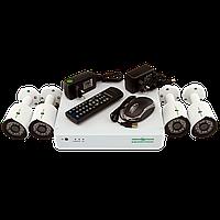 Комплект видеонаблюдения на 4 камеры Green Vision GV-K-S13/04 1080P