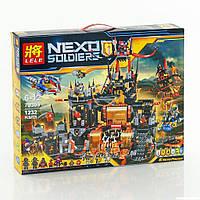 """Конструктор Lele 79309 Nexo Knights (реплика Лего 70323) """"Вулканическое логово Джестро"""", 1232 дет, фото 1"""