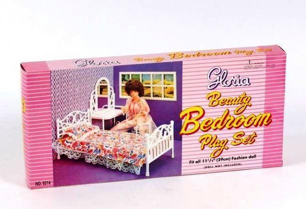 Детская мебель для кукол Gloria 9314 Спальня