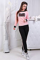 Костюм трикотажный PLAY розовый, фото 1