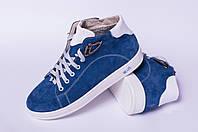 Ботинки подростковые кожаные, детская обувь от производителя модель ДЖ7008