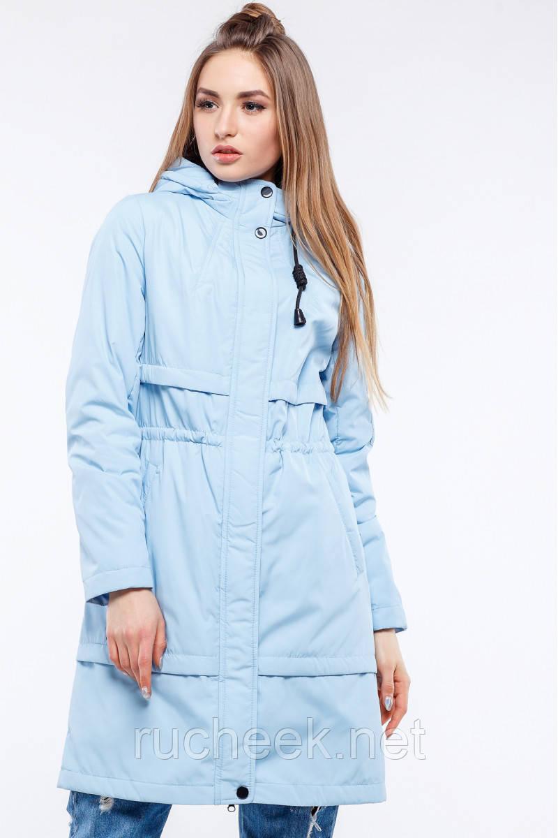 Куртка женская парка Авиана, Весна с Нью вери - Новая коллекция! голуб