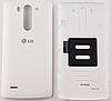 Задняя белая крышка для LG G3S D722   D724   D725   D728   D729