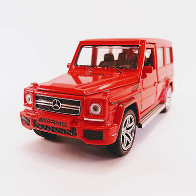 Автомодель металическая Mercedes-Benz G65AMG 1:32 АВТОПРОМ  3201G Свет, звук, Красный