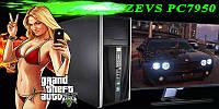 Мега Крутой Игровой ПК ZEVS PC7950 Phenom II X4 +GTX 1050 2GB