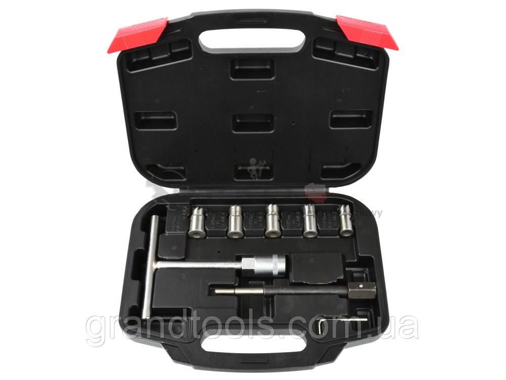 Набор режущих инструментов для чистки гнезд форсунок geko G02657