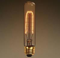 Лампа Эдисона E27 T10 40W 2700K Amber