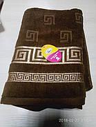 Набор махровых полотенец 2 шт  Versace-5, фото 2