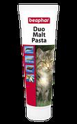 Beaphar Duo Malt Pasta двойная Мальт-Паста для кошек 100г (12958)