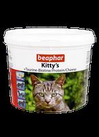 Beaphar Kittys Mix 750 таблеток-витамины для кошек  в виде сердечек, мышек, рыбок (12595)
