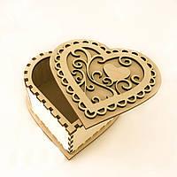 """Шкатулка  """" Сердце """" Корбка для подарка, фото 1"""