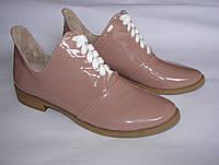 Лаковые туфли 38 размера- Распродажа фабричной обуви / лакові туфлі