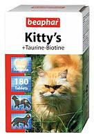 Beaphar Kittys Taurin and Biotin Витамины  для кошек, 180 таб (12578), фото 2