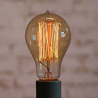Лампа Эдисона E27 A19-C 40W 2700K Amber
