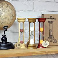 Часы песочные в деревянном корпусе 4-20  10 мин