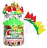Леденец Арбуз в банке Watermelon lollipop 100 шт (Китай)