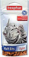 Beaphar Malt Bits light 35 г-для вывода шерсти у кошек, склонных к лишнему весу (11427), фото 2