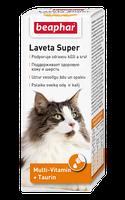 Beaphar Laveta Super 50мл-от линьки, для здоровой кожи и красивой блестящей шерсти котов (12524)