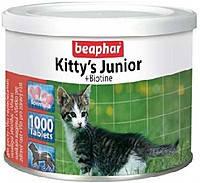 Beaphar Kittys junior витамины для котят с биотином 1000таб (12596), фото 2