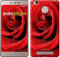 "Чехол на Xiaomi Redmi 3s Красная роза ""529c-357-10512"""