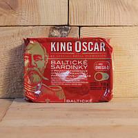 Сардины King Oscar, Balticke Sardinky в остром томатном соусе 110 г.
